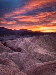 Zabriskie Point sunrise (Trent9701) Tags: california deathvalley hdr nikhdrefex trentcooper vacation zabriskiepoint desert nationalparks sunrise travel