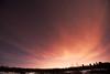 Winter Sky (crazyxavphotos) Tags: sky winter wintersky nightsky night moon stars starrynight skies clouds purple forest nature