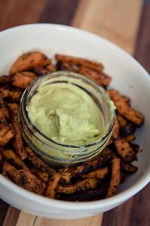 Food Photography - Guac Sauce & Fries