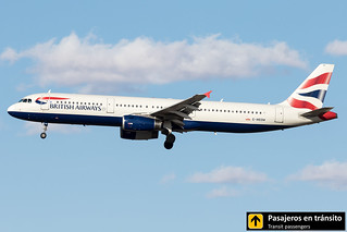 Airbus A321 British Airways G-MEDM