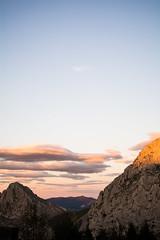 Interpreta (susanagdv) Tags: orange pink nature free freedom interpretation own mountain clouds blue colors