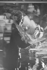 Ortiz... Toño (Dairo Cervantes (D.C.)) Tags: soncallejero salsa bogota colombia musico timbal conga music people antonioortiz toño bw doubleexposure blackandwhite chocó blackwhitepassionaward streetphotography