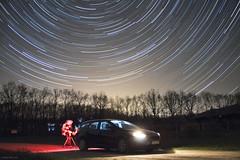 Startrail (hodorgabor) Tags: longexposure night nightphotography car telescope star sky startrail light astrophotography