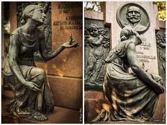 Funeral Art Collection (Peloi Photography) Tags: cemitério cemetery art consolação são paulo tomb esculturas