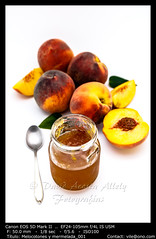 Peaches and Jam (__Viledevil__) Tags: composition delicious dessert food fresh fruit fruitage growth healthy homemade jam jar juicy marmalade nutrition organic paint peach raw ripe sweet tasty tropical vitamin