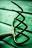 It's forking raining again.. (EYeardley) Tags: abstract wood lines green allthingsgreen greentheme weeklytheme 365 365challenge day102 gardenfork fork dof bokeh blur waterdroplet raindrop