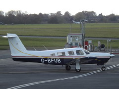 G-BFUB Piper Cherokee Lance II Private (Aircaft @ Gloucestershire Airport By James) Tags: gloucestershire airport gbfub piper cherokee lance ii private egbj james lloyds