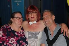 April 2018 (Patrice Bailey) Tags: redhead redhair makeup out bar club ts tv tg tranny tgirl tgurl gurl transvestite transgender cd crossdress crossdresser crossdressing glasses