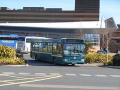 Thomas Bros. (First Cymru) 42694 (Welsh Bus 18) Tags: first cymru thomasbros transbus dart slf pointer 2 42694 cu03bhw swansea