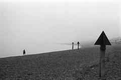 (von8itchfisk) Tags: fomapan film filmisnotdead analogphotography ishootfilm selfdeveloped blackandwhite 35mm misty felixstowe suffolk eastanglia beach coast olympus om10 northsea