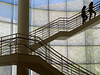 Keep climbing to reach the top. (vickilw) Tags: getty leadinglines staircase thegettycenter losangeles lines window architecture 372018 18118