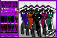 [TD] ToXic BodySuit [VIBRANT] (.☣.†ᴏxɪᴄÐᴏɪɪs.☣.) Tags: bodysuit toxic product physique pvc belleza sl secondlife slink lara mesh maitreya fashion female fitted fitmesh freya venus isis hourglass hud toxicdolls 1piece body biohazard bdsm vibrant sexy