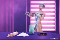 Baking Time! (Satuex Resident) Tags: patron secondlife sl cubura anxiety bakingtime baking bake secondlifevirtual gay guy male dude man men