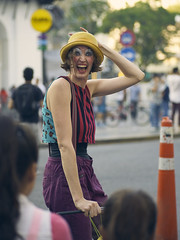 Smile (Martin H.E) Tags: sony a7r2 90mm tamron buenos aires portrait retrato amateur photo alpha clown woman colors colores argentina art street pic