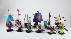 KAZI Mini Armada (0nuku) Tags: lego bootleg knockoff chinese kazi ship boat pirate british imperial flagship micro mini elves naida adventure metalbeard thelegomovie theseacow viking midgard longboat junk lordoftherings ghostship silentmary piratesofthecaribbean potc