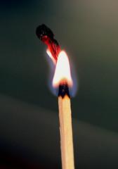 Flame (the.haggishunter) Tags: flame fire light matches burning heat blaze