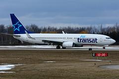 C-FTVF (Air Transat - TRA) (Steelhead 2010) Tags: airtransat boeing b737 b737800 yhm creg cftvf