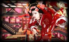 -00-_18 (ASLAN!) Tags: secondlife w00 irrisistibleshop naminoke rejaponica kimono oiran 花魁 裏ジャポニカ