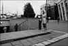8_DSC0256 (dmitryzhkov) Tags: russia moscow documentary street life human monochrome reportage social public urban city photojournalism streetphotography people bw dmitryryzhkov blackandwhite everyday candid stranger crossing crosswalk face streetportrait portrait phonenation phone pretty woman scene scenesoflife step stair