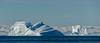 Greenland - 2 Giants (Kristinn R.) Tags: greenland icebergs nikon nature nikonphotography sea sky clouds mountains snow