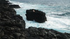 will (laura zalenga) Tags: island insel water ocean coast mystery ©laurazalenga selfportrait portrait landscape nature rock black lava hawaii stone waves tiny human will