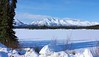 Mentasta Lake, Alaska (Explored) (JLS Photography - Alaska) Tags: alaska alaskalandscape america landscape lastfrontier landscapes lake mentastalake jlsphotographyalaska beautifulscenery snow scenery serene ice frozen forest trees mountains mountainpeaks mountain
