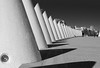 Array of cones (Teelicht) Tags: architektur ciudaddelasartesylasciencias ciutatdelesartsilesciències comunidadvalenciana spain spanien stadtderkünsteundderwissenschaften valencia architecture cityofartsandsciences