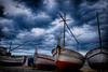 No fishing today (Salva Pagès) Tags: barco barca barques pesca fishing nube nuage nubes nuvol tempesta tormenta storm palafrugell calelladepalafrugell calella playa platja beach girona catalunya catalonia forecast weather marina