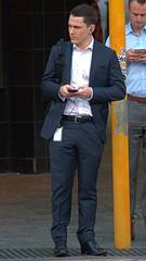 Handsome suit 2 (xelegante) Tags: handsome suit candid businessman