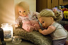 Gather Round Children (Jon Pinder) Tags: canon eos7d 50mm dolls toys candle light warmth