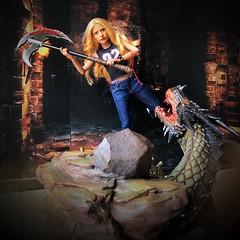 Buffy the Vampire (& occasional dragon)  slayer (alexmadalton) Tags: sixth vampire toy doll figure 16scale