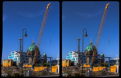 Berlin Palace construction site 3-D / CrossEye / Stereoscopy / HDRaw (Stereotron) Tags: berlin spreeathen mitte metropole hauptstadt capital metropolis brandenburg city urban constructionsite baustelle europe germany deutschland stadtschlos crosseye crosseyed crossview xview cross eye pair freeview sidebyside sbs kreuzblick 3d 3dphoto 3dstereo 3rddimension spatial stereo stereo3d stereophoto stereophotography stereoscopic stereoscopy stereotron threedimensional stereoview stereophotomaker stereophotograph 3dpicture 3dglasses 3dimage twin canon eos 550d yongnuo radio transmitter remote control synchron kitlens 1855mm tonemapping hdr hdri raw