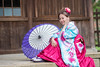 DSC_8976 (Robin Huang 35) Tags: 陳思綺 pocky 桃園神社 神社 和服 二尺袖 卒業服 袴 人像 portrait lady girl nikon d810
