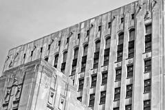 Detroit Free Press Building (ComradePhoto) Tags: detroit architecture abandoned canonrebelt6