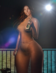 You Thirsty? (Neveah Niu /The ICONIC Owner) Tags: neveahniu mineral water 3dmesh 3dart photoshop secondlife