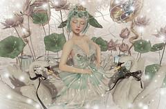Swan Lake (Gabriella Marshdevil ~ Trying to catch up!) Tags: sl secondlife cute moonamore mudskin doll wasabipills kawaii arcade gacha