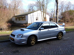 Subaru Impreza 2.0 STi (07 07 2003) (brizeehenri) Tags: subaru impreza 2003 96lzgt vlaardingen