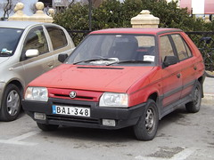 Škoda Favorit (Norbert Bánhidi) Tags: malta sliema tassliema car vehicle škoda skoda malte мальта málta