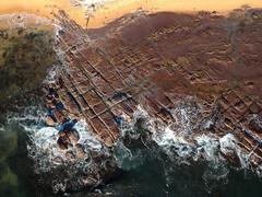 Collaroy rock platform (Marine Explorer) Tags: nature marine intertidal aerial australia marineexplorer rx100 compact sony