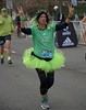 Signs Of Peace (Scott 97006) Tags: female lady peace sign run race costume hair highlights woman sport