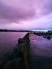 Pink is in my heart, just where it belongs. (evakongshavn) Tags: loveisintheair unconditionallove mylove love pink purple light lines water waterscape skyscape skyline clouds