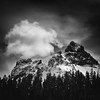 The Castle & Pinnacle Peak (TroyMasonPhotography) Tags: winter alpine climbing clouds hike mountrainier mountain mtrainier paradise pnw rain snow snowshoe spring stark storm summit tatoosh wind outdoors travel washington pacificnorthwest
