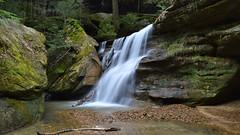 Hidden Falls (jwroach) Tags: hidden falls water hocking hills ohio slow shutter speed exposure