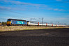 57002 + 82102 + 90002 - Bannold Road - 30/03/18. (TRphotography04) Tags: direct rail services drs 57002 express drags greater anglia dvt 82102 tnt with 90002 eastern daily press full mk3 set seen working 5z02 563y 0700 norwich cpt trsmd bounds green cambridgeshire past bannold road waterbeach