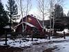 Twilight Barn (catmccray) Tags: evergreen colorado unitedstates us theredbarninevergreen weddingvenue