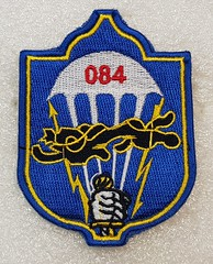 Mongolia 084th Special Task Battalion (Sin_15) Tags: mongolian mongolia badge insignia army hat beret cap military ground forces land airborne battalion patch armed force paratrooper special airforce