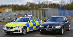 CMPG Motorway Units (S11 AUN) Tags: staffordshire staffs police cmpg centralmotorwaypolicegroup bmw 330d 3series saloon touring estate unmarked anpr traffic car rpu roads policing unit 999 emergency vehicle bx17ehv
