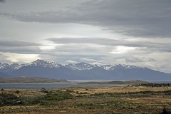 Beagle Channel (Joost10000) Tags: landscape landschaft tierradelfuego tierra del fuego patagonia argentina beagle channel beaglechannel southamerica outdoors sky clouds water ocean atlantic mountain mountains grass scenic beauty canon eos nature natur snow ice travel