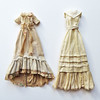 Antique Tea Gowns (RequiemArt.com) Tags: tea dyeing dye dress gown antique doll clothes monster high ever after