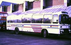 Slide 116-72 (Steve Guess) Tags: guildford surrey england gb uk bus station national express cornish fairways plaxton leopard leyland western